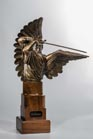 Defender Angel of God sculpture